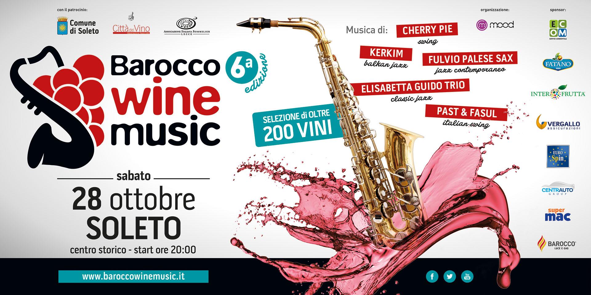 Sesta Edizione del Barocco Wine Music