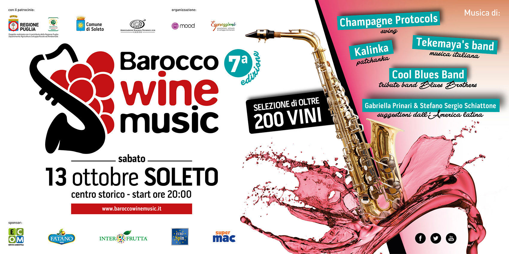 SETTIMA EDIZIONE DEL BAROCCO WINE MUSIC