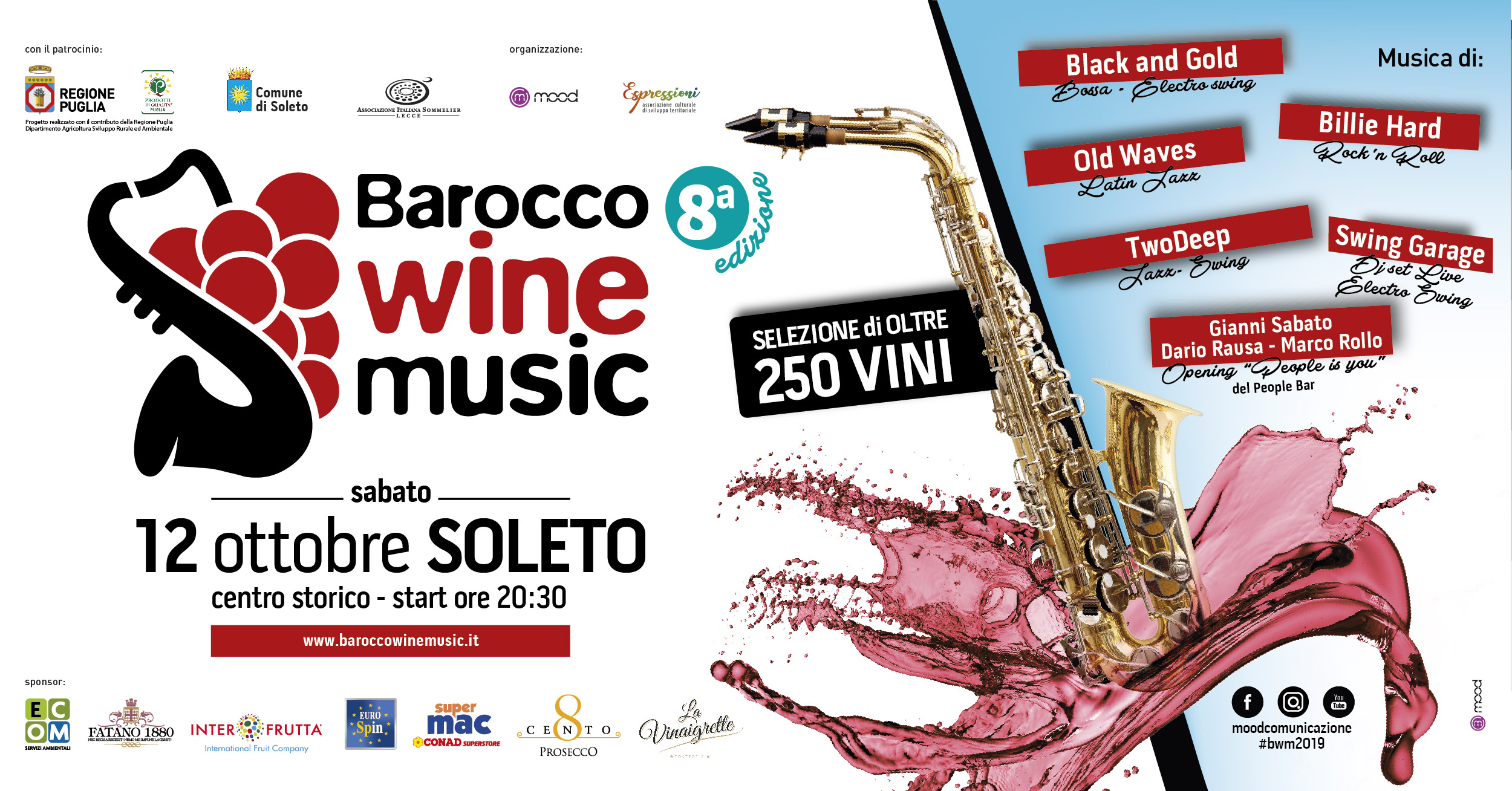 OTTAVA EDIZIONE DEL BAROCCO WINE MUSIC